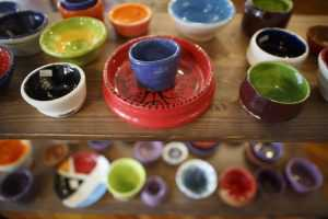 Cups and plates by sunshine studio